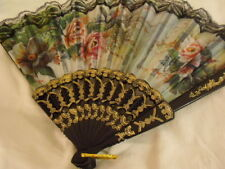 EVENTAIL FAN GLAMOUR  multi couleurs / NEUF NEW