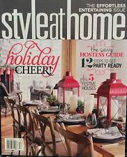STYLE AT HOME Holiday Cheer Savvy Hostess Guide 12/14 FREE SHIPPING