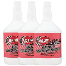 Red Line Heavy Shockproof Race / Rally Gear Oil - 3 US Quarts (2.84L)