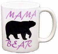 Mama Bear Mum Mummy Mother Slogan Novelty PRINTED MUG MUGS-GIFT, PRESENT