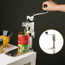 """11""""Commercial Food Big Can Opener Table Stainless Steel Food Can Opener"""