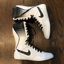 Vtg Nike Greco Supreme Wrestling Shoes Women Sz 7 Sample Signed