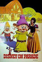 Disney on Parade 1971 Program Walt Disney Snow White & the Seven Dwarfs