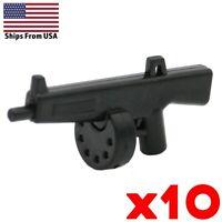 LEGO Guns ACS-12 Shotgun Lot of 10 Rainbow Six Army SWAT Military Weapon Pack