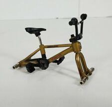 Flick Trix Rwdline GNote Gold BMX Bike Toy FRAME ONLY no wheels