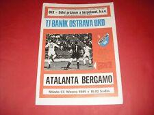 More details for 1984/85 intertoto cup banik ostrava v atalanta bergamo (1985)