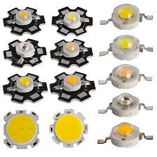 10x 50x 1W 3W 5W 7W LED SMD Maïs Puce avec étoile PCB PUISSANT perles