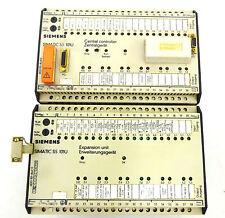 Siemens S5 101U Central Controller & Expansion Unit