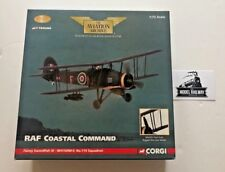 CORGI 1/72 - AA36304 - RAF COASTAL COMMAND FAIREY SWORDFISH III NO.119 1945