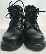 Harley Davidson Black Leather Boots #98525 Men's Size 7.5