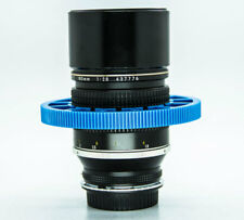DSLR Lens Gear Ring Follow Focus Gear Ring Belt 70-80mm Adjustable Flexible blue