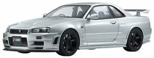 Nissan Skyline GT-R R34 Z-Tune Nismo Silver Limited Edition to 700 Pieces