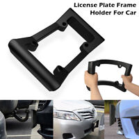 Bumper Guard License Plate Frame Holder fit Front Mount Bracket Car Protector
