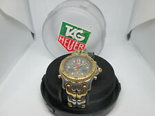 TAG HEUER SEL CHRONOGRAPH AYRTON SENNA 18KGP/STAINLESS STEEL QUARTZ MENS WATCH