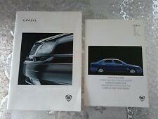 Lancia k DEPLIANT SALES BROCHURE e colori vettura lotto n.2 depliant