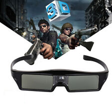 BOBLOV 3D DLP-Link 144Hz Active Shutter Glasses 8M USB For BenQ Optoma Projector