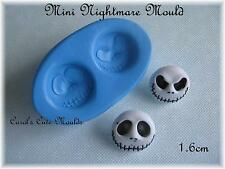 CAKE DECORATING: MINI NIGHTMARE BEFORE CHRISTMAS SILICONE MOULD CUPCAKE TOPPERS