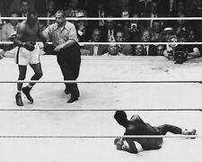 1951 Boxers 'Jersey' Joe Walcott vs Ezzard Charles Glossy 8x10 Photo Ko Print