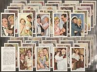 GALLAHER-FULL SET- SHOTS FROM FAMOUS FILMS (48 CARDS) - EXC