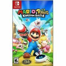 Mario + Rabbids Kingdom Battle (Nintendo Interruptor, 2017) Nuevo