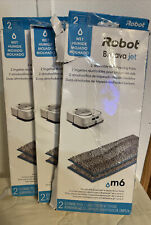 3 Packs- Brand New, Irobot Braava Jet Authentic Mopping Pads, 6 Total