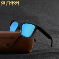 Fashion Square Mens Womens Polarized Sunglasses Outdoor Vintage Mirrored Eyewear