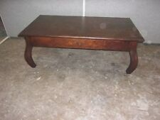 ANTIQUE OAK LIBRARY TABLE-COFFEE TABLE ORGINAL FINISH-SELLING OUT