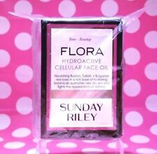 Sunday Riley Flora Hydroactive  Cellular Face Oil 1 OZ FULL SIZE!  NEW- BOX