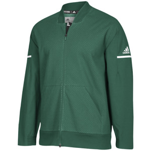 Adidas Team Squad Bomber Men's Jacket Water Resistant sz LT Large Tall Green