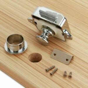 10x Push-Lock Möbelschloss Druckschlösser Druckknopf für Boot Caravan Wohnmobil