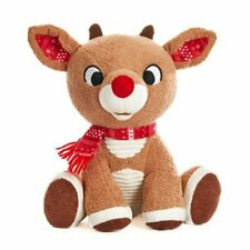 """Ideal Gift For Baby 20cm Soft Machine Wash Crinkles Rudolph 8""""Christmas Plush"""