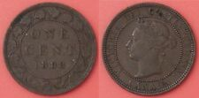 Very Fine 1888 Canada Large 1 Cent