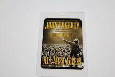 John Fogerty  - Laminated Backstage Pass - AAA  - FREE POSTAGE