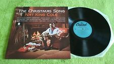 NAT KING COLE THE CHRISTMAS SONG  LP VINYL SM-1967