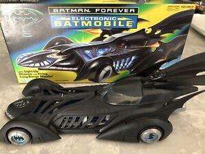 RARE KENNER 1995 BATMAN FOREVER ELECTRONIC BATMOBILE COMPLETE