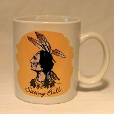 Sitting Bull Native Indian American Coffee Mug Cup Glass Sioux Tribe Leader