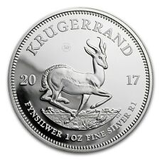 2017 South Africa 1 oz Silver Krugerrand Proof Coin - SKU #152208