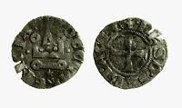 pcc2035_45) CHIARENZA  Denaro tornese attribuito a Filippo di Taranto 1307-1313