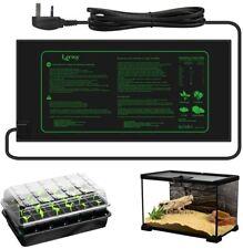 More details for seedling heating mat 21w greenhouse heat propagator plant seed vivarium heat pad