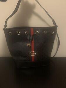 Large Gucci Hobo Handbag And Wallet