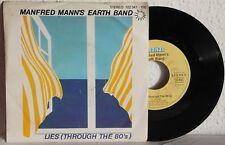 "7"" Vinyl - MANFRED MANN´S EARTHBAND - Lies (Through The 80´s)"
