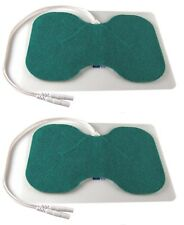 TENS Machine Electrode Pads - 2 Large Butterfly Pads - Lower Back Pain Relief