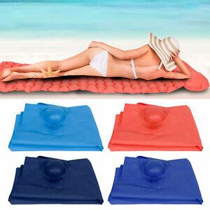 Outdoor Inflatable Air Bed Lounger Chair Sleeping Bag Mattress   Travel Beach