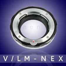 Yeenon LM-NEX Leica M VM-E Close Focus Adapter Sony A7 A7R A7RII (Black)(macro)