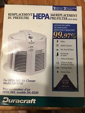 Duracraft Hepa 260 Replacement Pre Filter Aca-5030