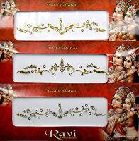 1 PACK of BRIDAL Gold **CHOOSE YOUR STYLE** Indian  Gem TIKKA Festival BINDI