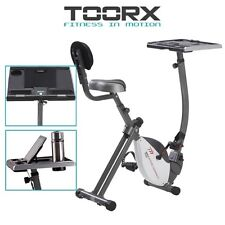 TOORX BRX OFFICE COMPACT Cyclette magnetica con scrivania regolabile
