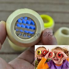 2pcs Glass Prism Kaleidoscope Kids Toy Bee Eye Observe Puzzle Game Birthday Gift
