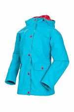 Target Dry™ -  Flutterby Girls Cyan Lightweight Fleeclined Rain Coat 2-3yrs