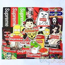 25 x Supreme Skateboard Sticker Mix Waterproof Car Phone Guitar Laptop toy decal